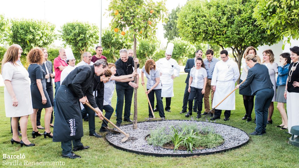 [:es] Nace el Jardín de los Eventos - Barceló Sevilla Renacimiento [:en] Welcome to the Garden of Events - Barceló Sevilla Renacimiento [:]
